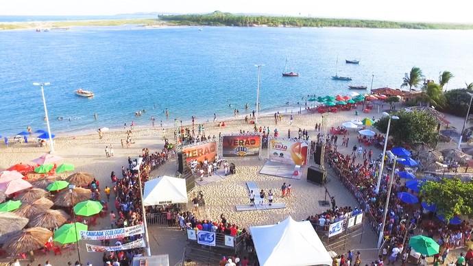 'Rota' volta no próximo sábado (28), direto da Barra do Cunhaú (Foto: Alexandre Gomes)