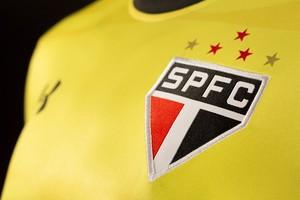 Camisa nova São Paulo detalhe (Foto: Divulgação)
