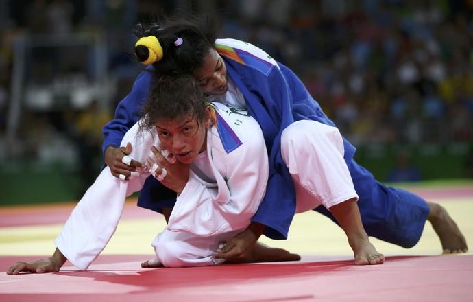Sarah Menezes, judô Brasil, Olimpíada (Foto: REUTERS/Toru Hanai )