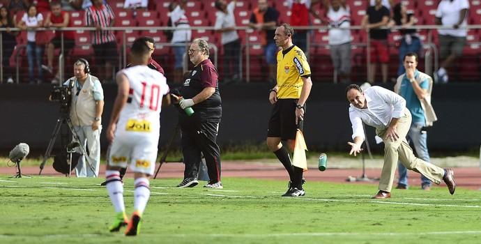 Rogério Ceni São Paulo x Santo André (Foto: Marcos Ribolli)