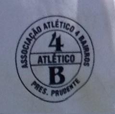 Escudo Quatro Bairros - amador de Prudente (Foto: Divulgação)
