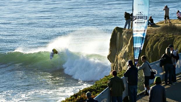 Matt Wilkinson, etapa de Santa Cruz do Circuito Mundial de surfe (Foto: Divulgação / O'Neill)