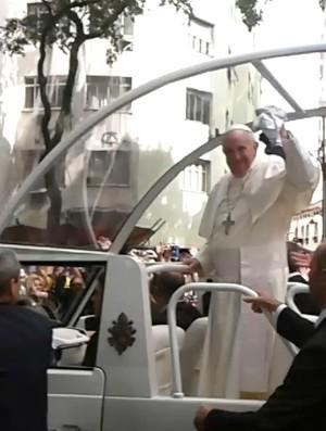 Camisa Ceará Papa Francisco (Foto: Reprodução)