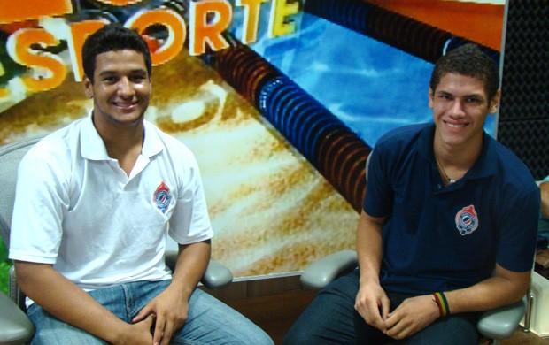 Joel e Laércio foram convocados para um período de treinos com a seleção brasileira (Foto: Paulo de Tarso Jr./Divulgação)