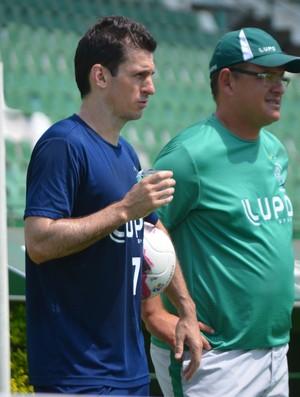 Fumagalli, meia do Guarani (Foto: Murilo Borges / Globoesporte.com)