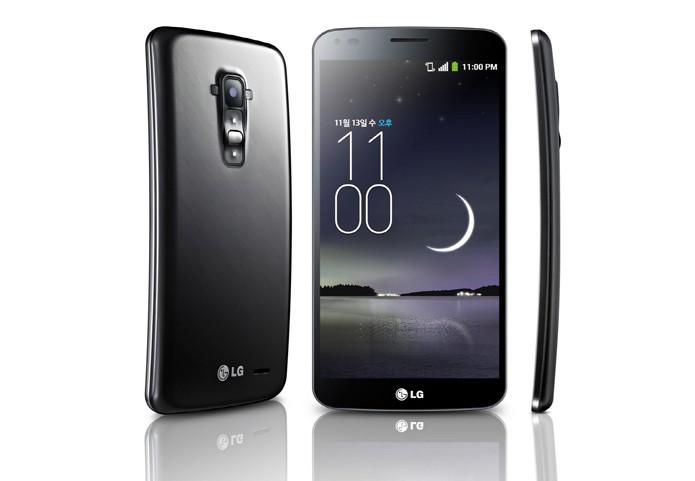 LG G Flex tem uma tela curva e flexível de seis polegadas e Android 4.2 (Jelly Bean) (Foto: Divulgação/LG)