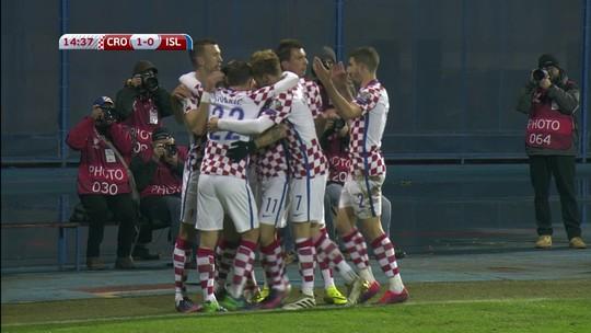 Sem público, Croácia vence Islândia e dispara na liderança do Grupo I