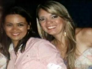 Michele e Isabela foram estupradas e mortas durante festa (Foto: Reprodução/TV Globo)