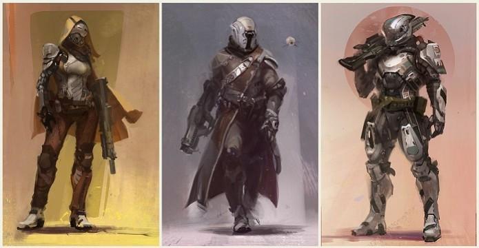 Destiny conta com três classes de Guardiões: Caçadores, Arcanos e Titãs (Foto: Divulgação)