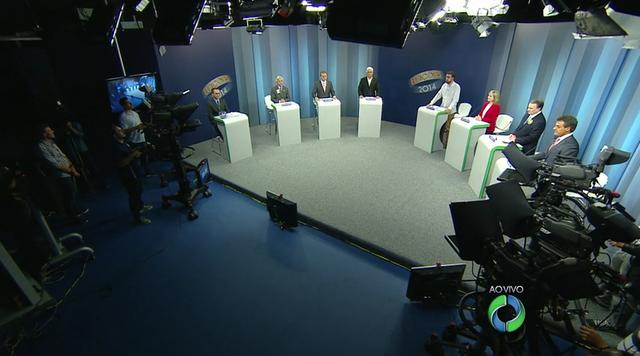 Debate entre os candidatos ao governo do Paraná - Parte 1