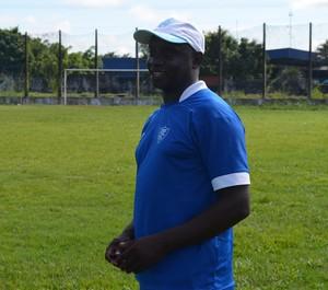 Geraldo Costa, novo técnico do Ji-Paraná (Foto: Mônica Santos)