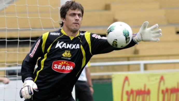 Michel Alves, goleiro do Criciúma (Foto: Fernando Ribeiro, Divulgação / Criciúma E.C.)