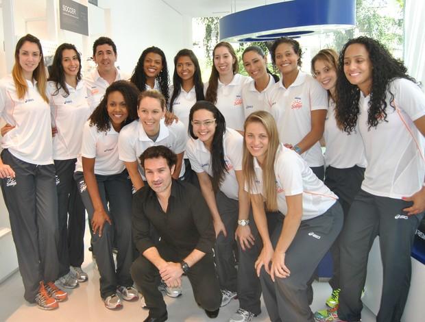 Osasco vôlei Mundial (Foto: João Gabriel Rodrigues / GLOBOESPORTE.COM)