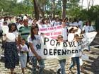 Vítimas de chacina em Poção, PE, são homenageadas durante caminhada