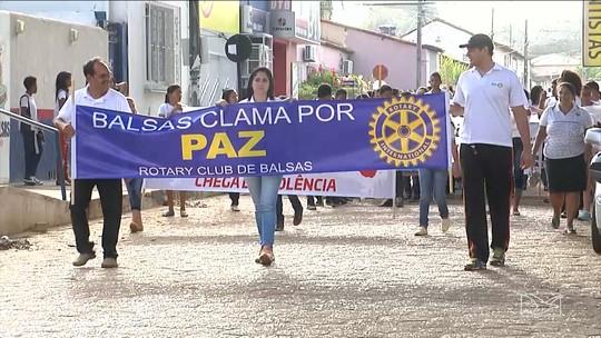 Instituições promovem Caminhada pela Paz em Balsas