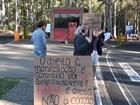 Grupo realiza manifestação em frente à UFSCar e uma funcionária é detida