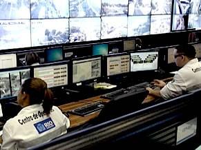 Centro de Operações do Rio (Foto: Reprodução de TV)