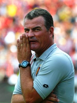 Mazola Júnior, técnico do Sport (Foto: Aldo Carneiro)