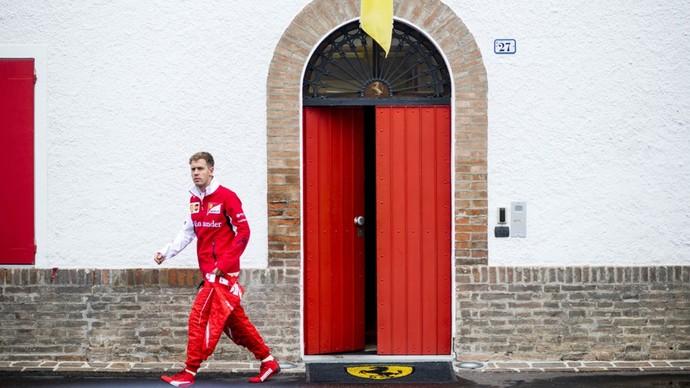 O tetracampeão Sebastian Vettel é a grande aposta da Ferrari para a temporada 2015 (Foto: Divulgação)