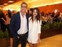 Fábio Assunção e Pally Siqueira posam juntos após viagem ao Caribe