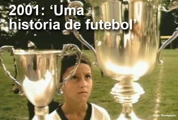 Em 2001, o curta-metragem brasileiro 'Uma história de futebol' foi indicado ao Oscar (Foto: Divulgação)