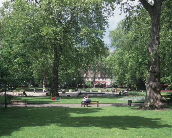 A região de Russe Square, em Londres, onde ocorreu o ataque (Foto: Thinkstock)