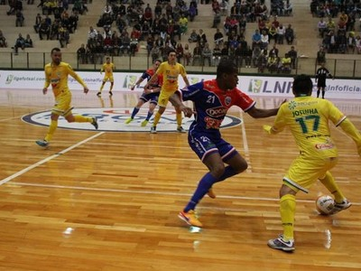 rondon futsal  (Foto: Divulgação/Site oficial do Copagril)