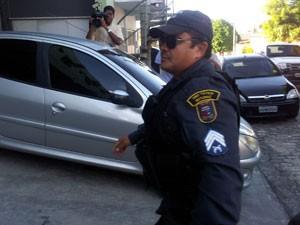 Sargente Carlos foi preso novamente nesta quarta (31) (Foto: Igor Jácome/G1)
