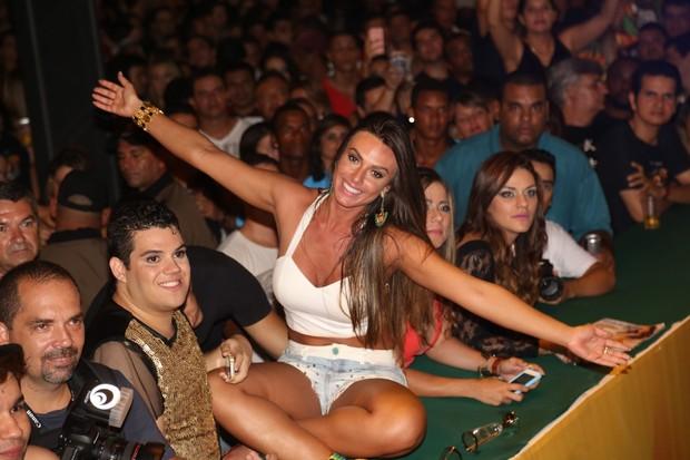 Nicole Bahls no Precaju (Foto: Fred Pontes / Divulgação)
