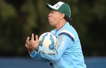 """Marcelo Oliveira quer Palmeiras com a mesma """"engrenagem"""" do Cruzeiro"""