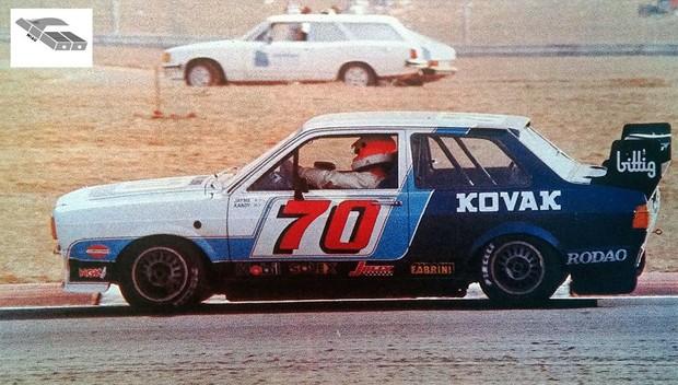 Voyage campeão em 1984 do campeonato de Marcas e Pilotos com  Jayme Figueiredo e Xandy Negrão. (Foto: Miau)
