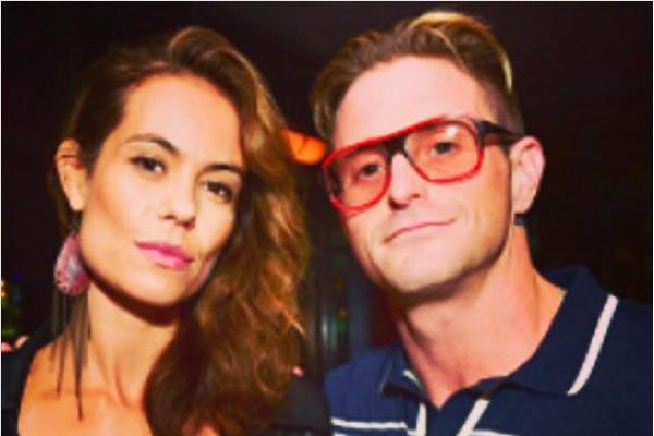 Cameron Douglas e Viviane Thibes (Foto: Instagram)