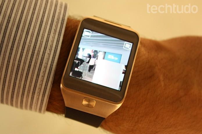 Galaxy Gear 2 pode ganhar versão capaz de realizar chamadas de voz e se conectar à Internet sem a ajuda de um celular (Foto: Allan Melo/TechTudo)