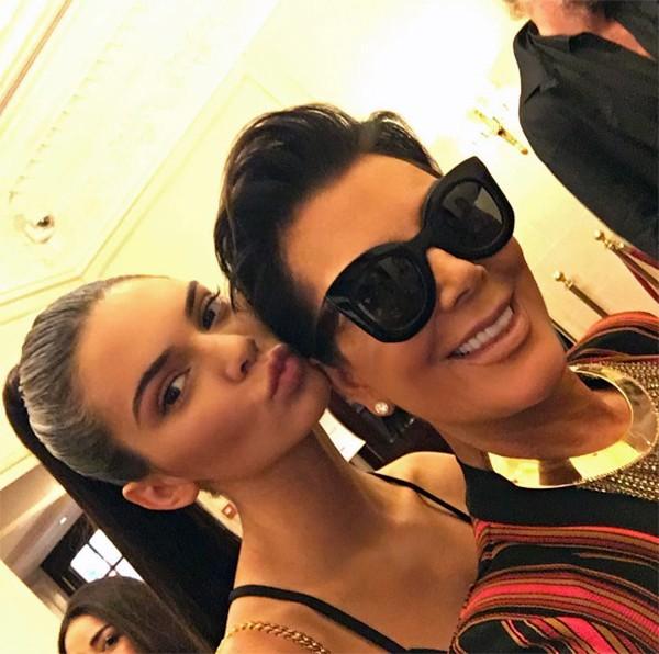Kendall e Kris Jenner (Foto: Instagram)