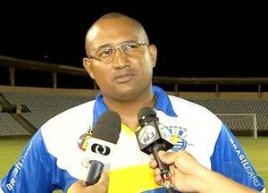 Wilsomar Sena, técnico do Palmas  (Foto: Reprodução/TV Anhanguera)