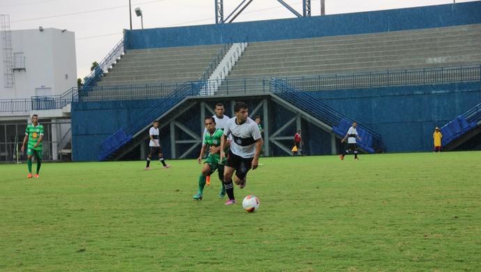 Rio Negro perdeu por 2 a 0 para o Iranduba (Foto: Gabriel Mansur)