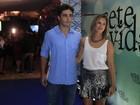 Thiago Rodrigues faz homenagem para Cristiane Dias: 'Muito orgulhoso'