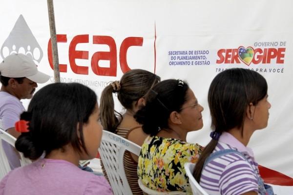 Ceac Móvel em Sergipe (Foto: Victor Ribeiro/ASN)