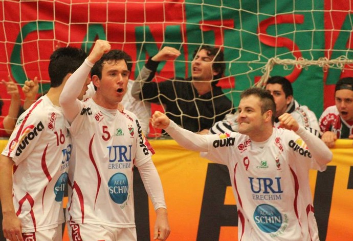 Atlântico Erechim Sorocaba Liga Futsal (Foto: Prime Comunicacao/Divulgação)