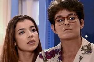 Vilma exige que Beto se case com Sol (Foto: reprodução/TV Globo)