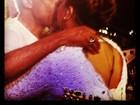 Preta Gil posta foto de selinho no pai: 'Um homem que amo'