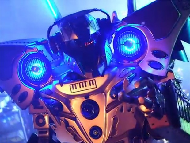 Um robô de quase quatro metros estará presente todos os dias do festival (Foto: Divulgação)