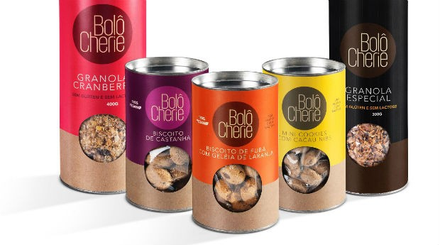 Os biscoitos da Bôlo Chérie são livres de glúten e de lactose (Foto: Divulgação)