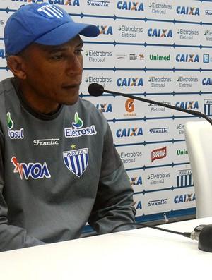 Treino do Avaí, Hemerson Maria (Foto: João Lucas Cardoso / Globoesporte.com)