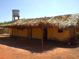 Grupo Lúmens e moradores melhoraram a estrutura da escola municipal de Miguel Alves. (Foto: Divulgação/Flaviane Tajra)