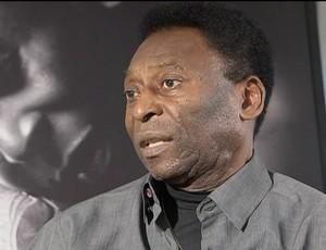 Entrevista com Pelé sobre Maracanã (Foto: Reprodução/TV Globo)