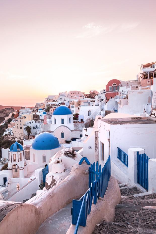 Santorini - Grécia (Foto: Paulo Del Valle/Divulgação)