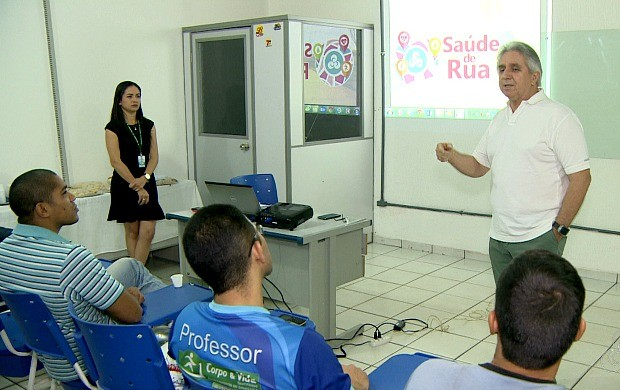 Projeto Saúde de Rua é apresentado em Porto Velho (Foto: Rondônia TV)