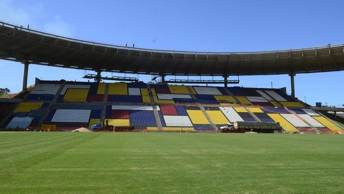 Estádio Estadual Kléber Andrade (Foto: Ricardo Medeiros/A Gazeta)