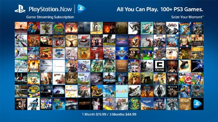 Novo modelo de assinatura oferece mais de 100 jogos de PlayStation 3 na PlayStation Now (Foto: PlayStation Blog)